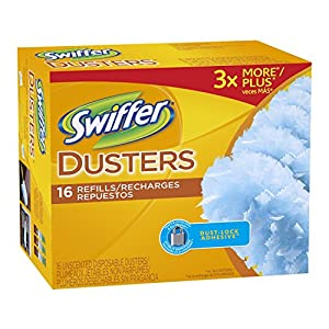Swiffer Disposable Cleaning Dusters Refills Jumbo Value Pkg 32 Count Unscented Refills...
