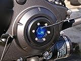ティーエスアール(TSR) タイミングホールキャップスライダー キャップ部分:ブルーアルマイト/スライダー部分:ジュラコン(黒色) 11330-HW0-0BL