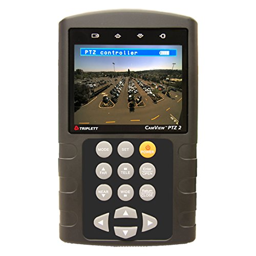 "Triplett 8001 Camview Ptz 2 Cctv Tester With 3.5"" Color Lcd Display"