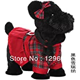 2013 New Electric Plush Toy Gog Music Robotic Dog Electronic Pet Dog Rope Remote Control Dog Toy Children toy