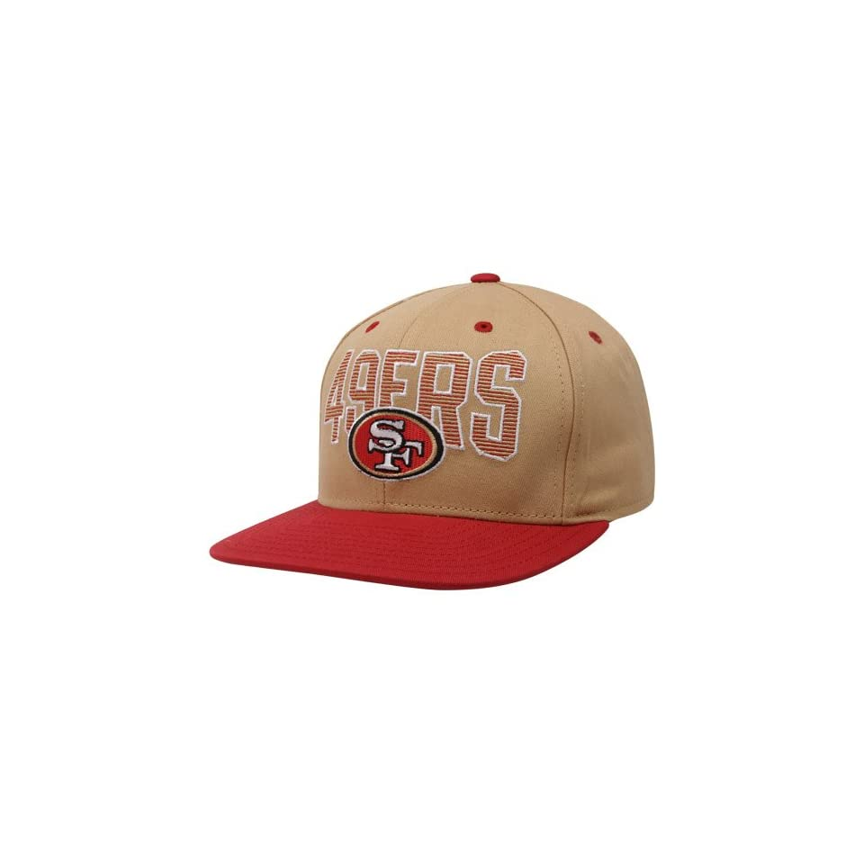 Reebok San Francisco 49ers Gold Scarlet Two Tone Striped