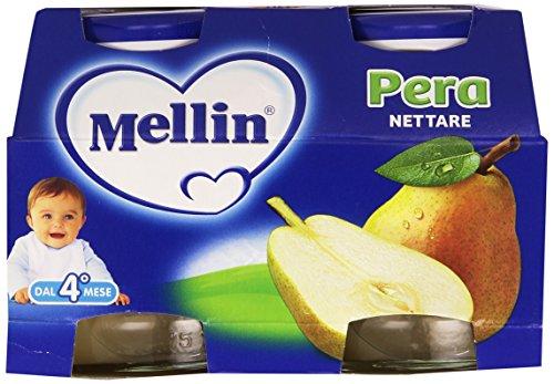 Mellin - Nettare di Pera, 125ml (Confezione da 4)