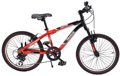 Reebok Boys Lunar Bike - Red/Black, 20 Inch