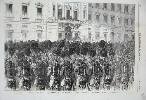 1854 Battalion Scots Fusilier Guards Buckingham Palace
