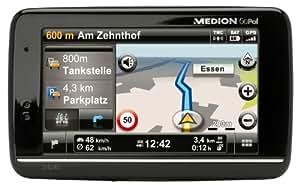 Medion E4245 WEU+ Navigationssystem (10,9 cm (4,3 Zoll) Display, TMC Pro, Kartenmaterial Westeuropa)