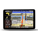 Updated EASYOWN CS706 7 inch Car GPS Windows CE 6.0 8GB HD Screen Navigation System Navigator-Bluetooth function