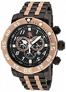 Invicta 17553 Men's Sea Base Titanium Black Polyurethane Limited Edition Watch