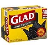 Glad Quick-Tie Trash Bags 30 Gallon 40 Ct.