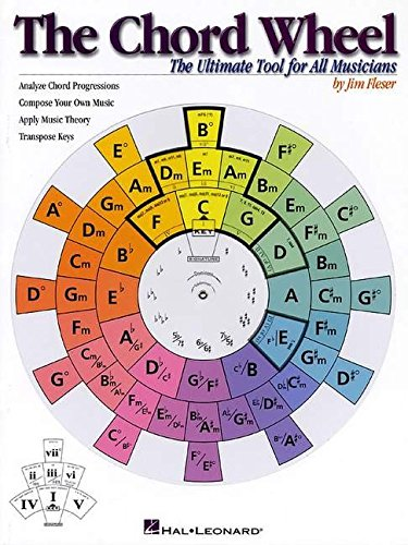 The Chord Wheel: The Ultimate Tool for All Musicians (Ultimate Guitar Chord Chart compare prices)
