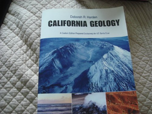 California Geology Custom Edition Prepared Exclusively...