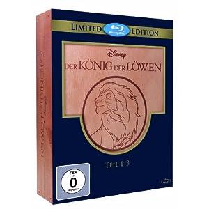 Der König der Löwen 1-3 - Trilogie Holzbox