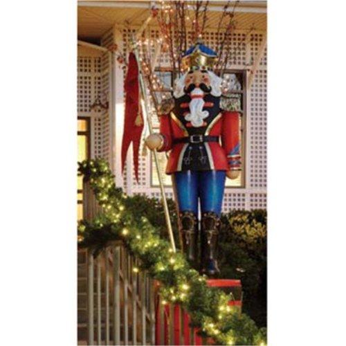 6' Giant Commercial Grade Fiberglass Nutcracker Christmas Decoration Display