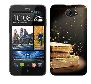 TrilMil Printed Designer Mobile Case Back Cover For HTC Desire 516