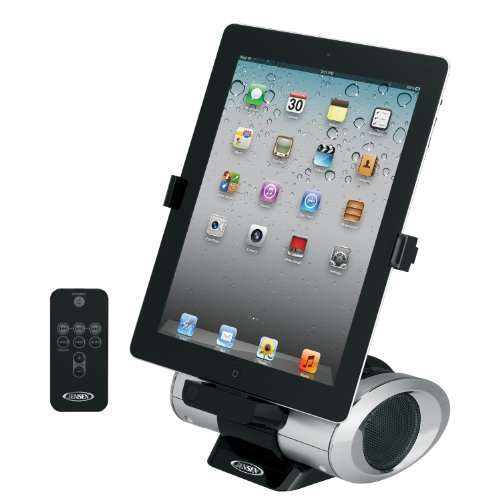 Jensen JiPS-270i Universal iPad/iPod/iPhone Docking Speaker Station with Custom App, Aux Line-In and Remote (Iphone Charger Custom compare prices)