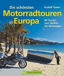 Die schönsten Motorradtouren in Europa