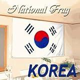 国旗 KOREA 韓国 大韓民国 大サイズ(150×90cm)