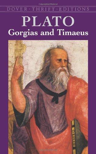 Gorgias and Timaeus (Dover Thrift Editions)