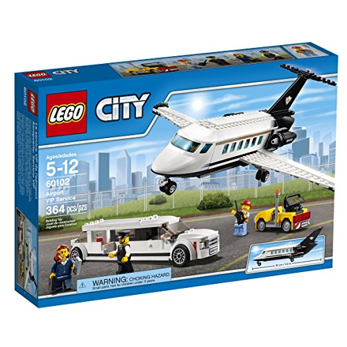 LEGO-City-Airport-60102-Airport-VIP-Service-Building-Kit-364-Piece