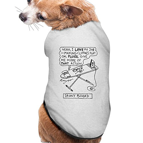 Irony Board Cartoons And Comics Summer Small Puppy Clothes Fleece Perfit For Everyday Wear,holiday,parties,and Photos.