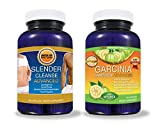 Pure Garcinia Cambogia Extract PLUS Detox Cleanse (BEST SELLERS BUNDLE!) --LOOK AT OUR REVIEWS!!! All Natural Garcinia Cambogia Advanced With The TV Doctor's Required 60% HCA Formula Perfectly Matched to THE Premium Slender Cleanse Advanced Colon Cleanse for FAST RESULTS to Help You Lose Weight! - 2 BEST SELLING PRODUCTS FOR THE PRICE OF 1! (DIET KIT) - 'Get Slim Fast' - -A to Z 100% Satisfaction Guarantee! - - Click The 'ADD TO CART' Button to the Right!