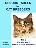 img - for Colour Tables For Cat Breeders - 2 Chocolate & Chocolate Tortoiseshell book / textbook / text book