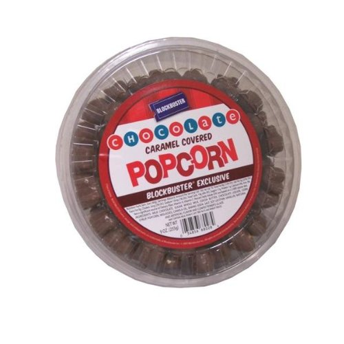 New - Blockbuster Chocolate Caramel Covered Popcorn Case Pack 12 by DDI