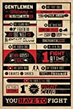 Fight Club Rules Maxi Poster