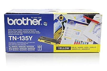 Brother MFC-9445 CDN - Original Brother TN-135Y - Cartouche de Toner Jaune -