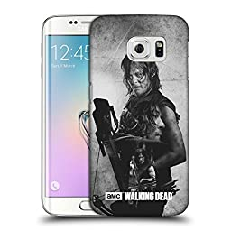 Official AMC The Walking Dead Daryl Double Exposure Hard Back Case for Samsung Galaxy S6 edge