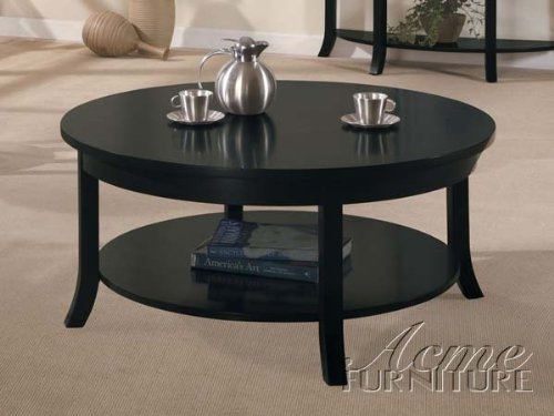 Corfland Coffee Table in Dark espresso finish by Acme