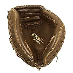 Mpowered Gold Series Catchers Cow Baseball Glove, 32.5-Inch, Right Handed Throw by M^POWERED BASEBALL