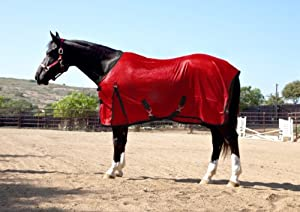 Kensington Euro Cut Poly Max Fly Sheet, Deluxe Red, 69