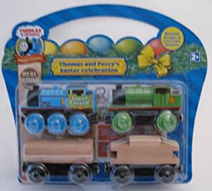 Thomas & Friends Wooden Railway Thomas and Percy's Easter Celebration Exclusive Gift Pack