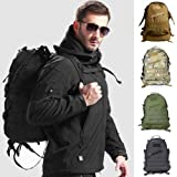 happu-store Ordinary Military Backpack Day Pack Water Repellent Bug Out Bag