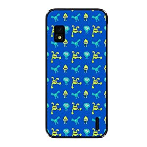 Vibhar printed case back cover for Nexus 4 MonsFly