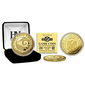 St Louis Rams St Louis Rams 2013 Game Coin by Highland Mint