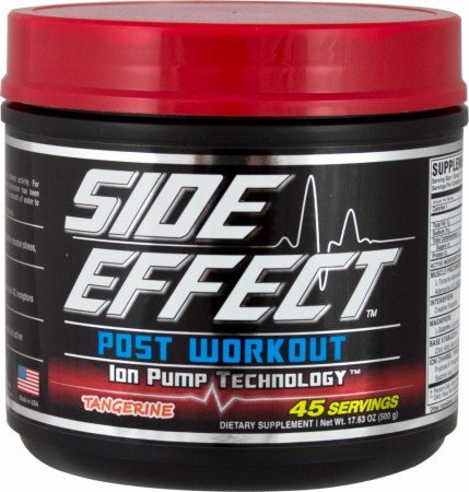 Side Effect Sports Post Workout - 45 Servings - Raspberry