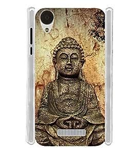 Vintage Buddha Soft Silicon Rubberized Back Case Cover for Lava Iris X9 :: Lava Iris X9 4G