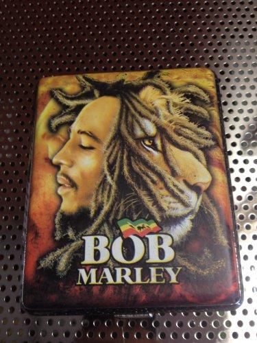 Bob Marley Cigarette Case For King Size Or 100'S Size Cigarettes/ Id Holder/Credit Card Holder #011