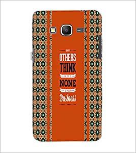 PrintDhaba Quote D-5839 Back Case Cover for SAMSUNG GALAXY GRAND PRIME (Multi-Coloured)