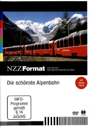 DIE SCHÖNSTE ALPENBAHN - NZZ FORMAT [IMPORT ALLEMAND] (IMPORT) (DVD)