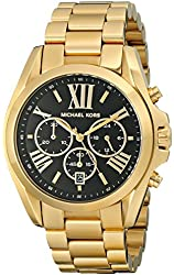 Michael Kors Women's Bradshaw Gold-Tone Bracelet Watch MK5739