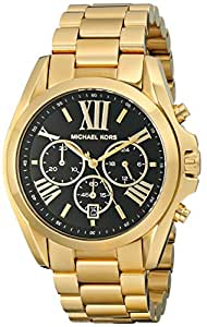 Michael Kors Women's Bradshaw Gold-Tone Bracelet Watch