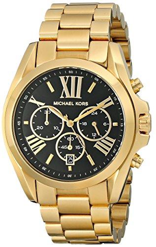 Michael Kors MK5739 43mm Gold Steel Bracelet & Case Mineral Women's Watch