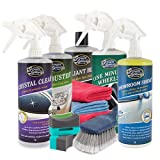 Greased Lightning Showroom Shine 1 Ltr Ultimate Car Cleaning Pack & Accessories