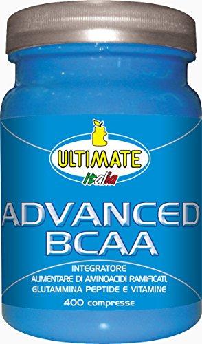 Ultimate Italia Advanced BCAA Aminoacidi Ramificati - 400 Caplets