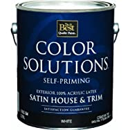 - CS43W0701-16 Color Solutions Latex Satin Self-Priming Exterior House And Trim Paint