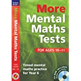 More Mental Maths Tests for Ages 10-11: Timed Mental Maths Practice for Year 6by Andrew Brodie