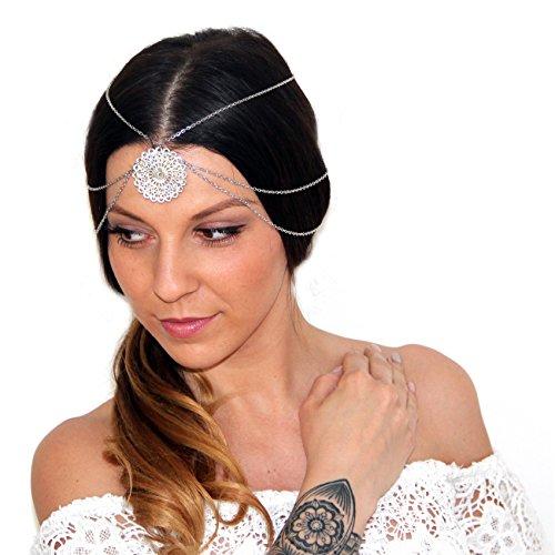 vintage bandeau cheveux bijoux pour la t te avec amulette festival ruban cheveux en optique d. Black Bedroom Furniture Sets. Home Design Ideas