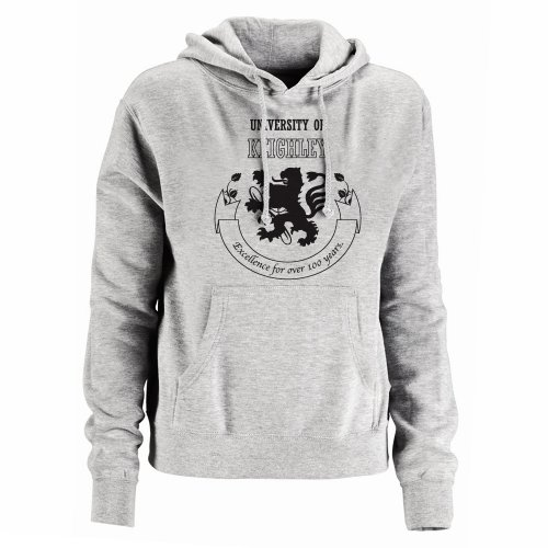 University Of Keighley Spoof Mens Hoodie, Size 2X-Large